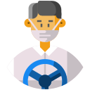 ambulance, avatar, bus driver, driver, frontliner, public transportation, taxi driver icon