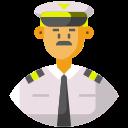 avatar, captain, commercial pilot, frontliner, pilot icon