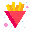 chips, french, fries icon