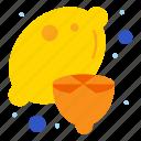 food, healthy, juice, lemon icon