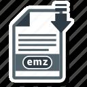 document, emz, file, file format
