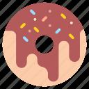bakery, cooking, dessert, donut, restaurant icon