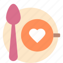 coffee, love, love coffee, valentine icon