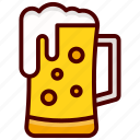 alcohol, beer, beverage, drink, glass icon