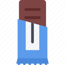 bar, cafe, candy, chocolate, confectionery, sweets icon