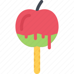 apple, cafe, candy, confectionery, sweets icon