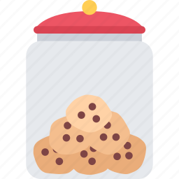 cafe, candy, confectionery, cookie, jar, sweets icon