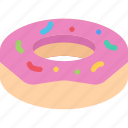 cafe, candy, confectionery, donut, sweets icon