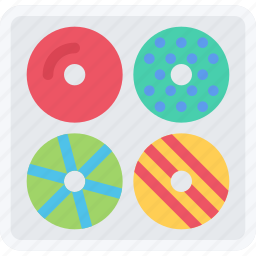 cafe, candy, confectionery, donuts, sweets icon