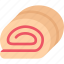 cafe, candy, confectionery, jam, roll, sweets icon