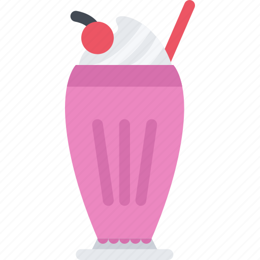 cafe, candy, confectionery, milk, shake, sweets icon