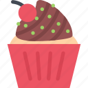 cafe, candy, confectionery, muffins, sweets icon
