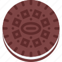 cafe, candy, confectionery, cookie, oreo, sweets icon