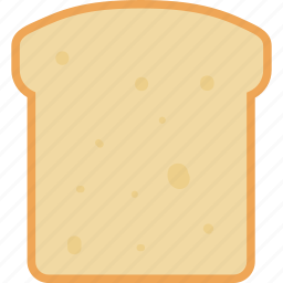 bakery, bread, diet, french, slice, toast, wheat icon