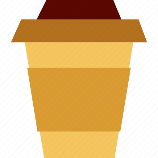 caffeine, coffee, container, disposable, drink, energy, takeaway icon