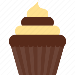 bakery, birthday, cake, cupcake, dessert, muffin, pastry icon