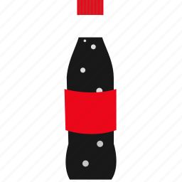 beverage, bottle, bubble, cold, drink, fizzy, soda icon