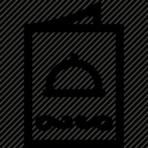 Card, food, menu, pub, restaurant icon - Download on Iconfinder