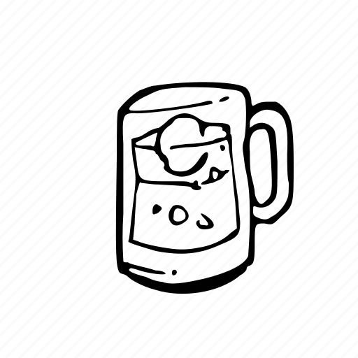 Cup, drink, glass, ice, water icon - Download on Iconfinder