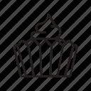 cake, cookies, cupcake, dessert, food, tart icon