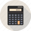 accounting, business, calculate, calculation, calculator, device, math