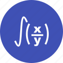 education, equation, formula, geometry, mathematics, maths, triangle icon