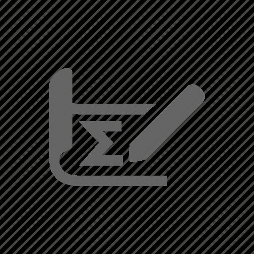 calculate, design icon