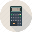 calculate, calculator, math, numbers icon