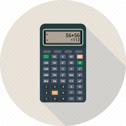 Calculate, calculator, math, numbers icon - Download on Iconfinder