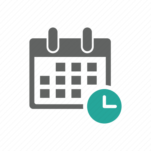 appointment, calendar, clock, later, save for later, schedule, time icon