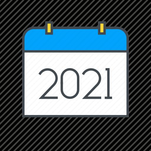 Calendar, date, schedule, year icon