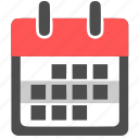 appointment, calendar, date, event, month, schedule, week icon