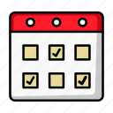 appointment, business, calendar, date, month, schedule, schedule icon