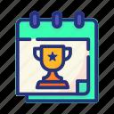 championship, award, trophy, winner