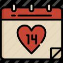 valentine, essentials, application, ui, date, schedule, love