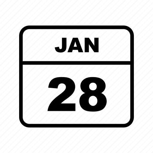 calendar, january, month, schedule icon