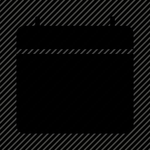 app, blank, calendar, software, ui, ux icon