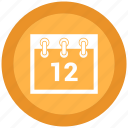 date, day, event, schedule icon