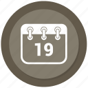 calendar, date, multimedia, schedule icon