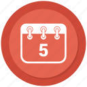 calendar, event, month, schedule icon