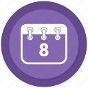 appointment, calendar, working schedule icon