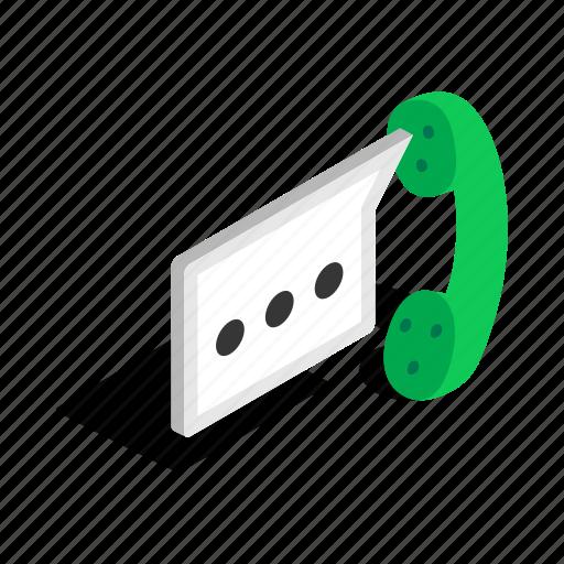 consultation, headphone, help, isometric, microphone, phone, talking icon