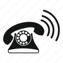 call, device, object, phone, ringing, support, telephone icon