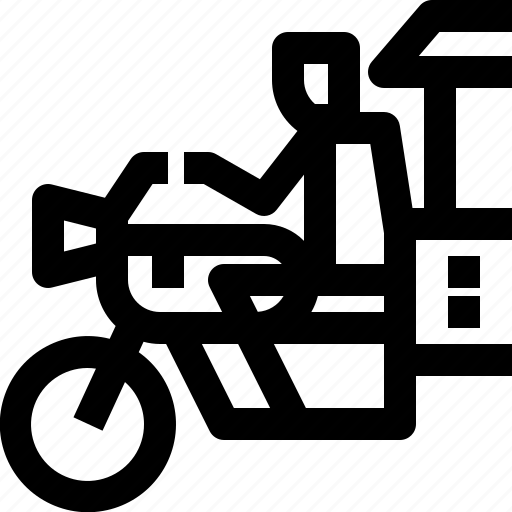cambodia, driver, motorbike, transport, transportation, tuk tuk, vehicle icon