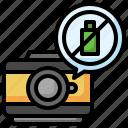 no, battery, carging, level, technology, camera