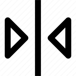 flip, horizontal, image, photo, picture icon