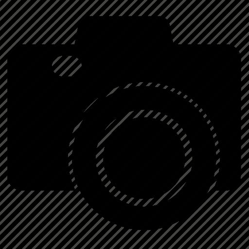 camera, capture, click, heavy, lense, photography icon