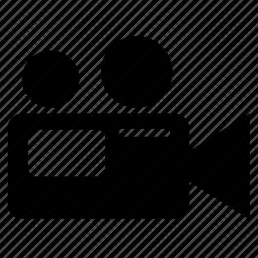 camera, disc, maker, movie, recoding icon