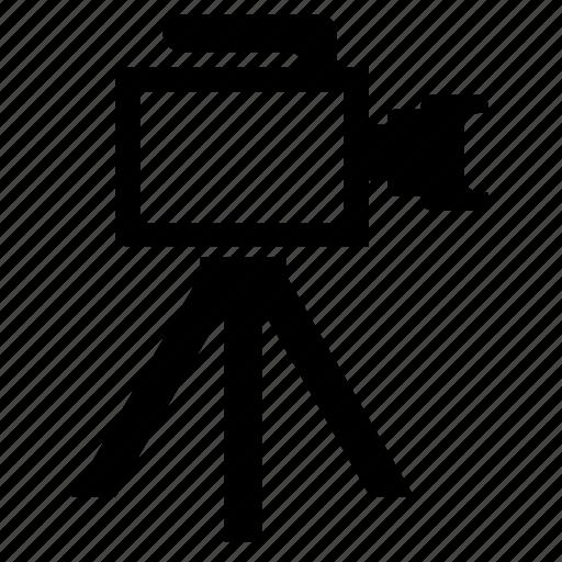 camera, lense, maker, media, video icon