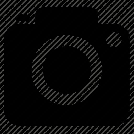 camera, lense, normal icon